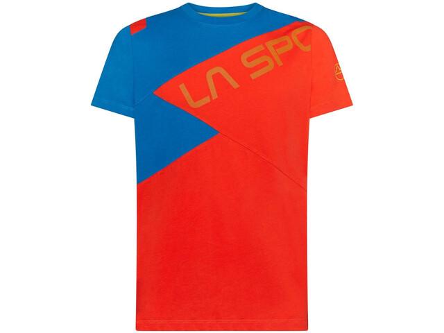 La Sportiva Float T-Shirt Homme, poppy/neptune